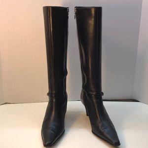 "Joan & David Black ""365 Comfort"" Boots Size 8"